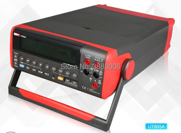 UNI-T UT805A Bench Type Digital Multimeter Four and a Half High Accuracy Liquid Crystal Display USB / RS232 Data Transfer hot sale ut802 uni t bench type digital multimeter automotive multimeter