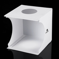 PULUZ PU5022 Portable 8 Inch LED Panels Folding Photo Light Lighting Studio Shooting Tent Box Photography