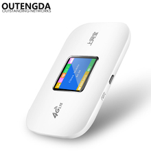 Portable Unlocked 100Mbps Mini 3G 4G WIFI Router Car Travel-use Wireless LTE Mobile WiFi Hotspot 3G/4G with SIM Card Slot