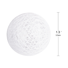 2M Multi-color Warm White Led Cotton Ball String