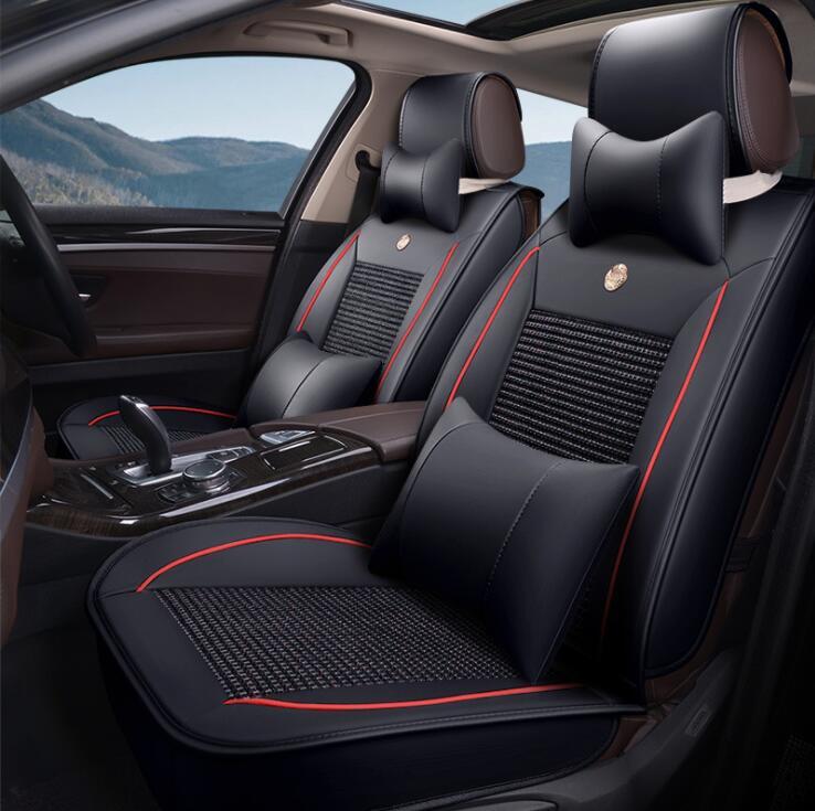 Universal PU car seat covers For Toyota Corolla RAV4 Prius