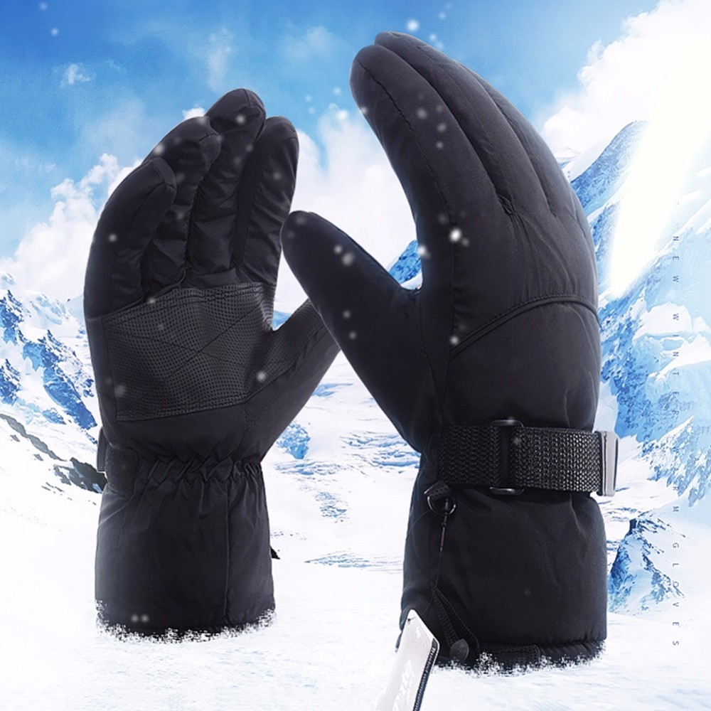 New Professional Skiing Gloves Winter Men Warm Gloves Waterproof Windproof Cold-proof Gloves Winter Motorcycles Thermal Gloves