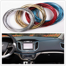 5M Car Styling Interior Decoration Strips Auto Accessories for Skoda Octavia A2 A5 A7 Fabia Rapid Superb Yeti Roomster