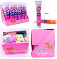 24Pcs/lot Romantic Bear Tattoo Lipstick Long Lasting Waterprof Wow Lip Gloss My Lip Tint Pack Labiales