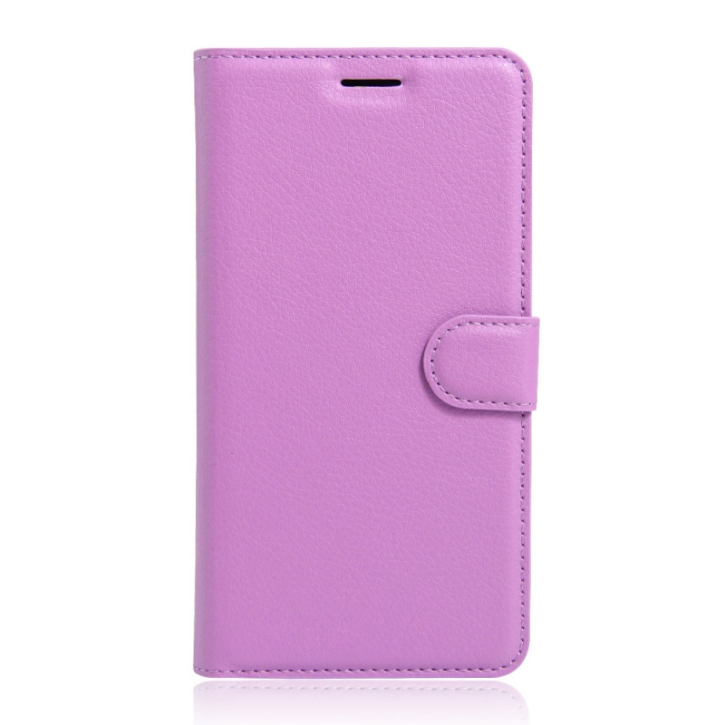 For Huawei Honor 5c / GT3 <font><b>Leather</b></font> Cases <font><b>Litchi</b></font> <font><b>Skin</b></font> <font><b>Leather</b></font> <font><b>Stand</b></font> <font><b>Cover</b></font> <font><b>with</b></font> <font><b>Card</b></font> <font><b>Slots</b></font> For Huawei Honor 5c / GT3 - Purple