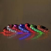 Waterproof Safety Pet Collar – LED Glow