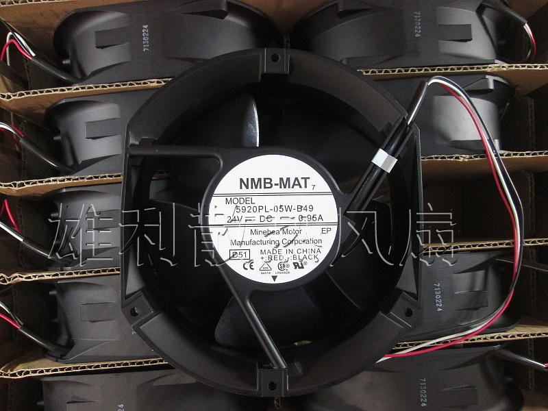цена Free Delivery. New Original-MAT 5920PL-05W-B49 24V 0.95A 17CM 3-wire Inverter Fan