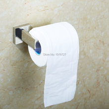 2016 Salle De Bains Toilet Paper Holder Support Mural Poli 304 Acier Inoxydable Chrome