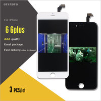 Ovsnovo 3PCS All Check Test Work Perfect LCD Ecran For IPhone6 6 Plus LCD Display Touch