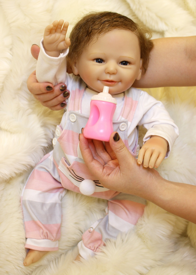 50CM doll Reborn Silicone Baby dolls for sale  Lifelike boy girl Dolls For child Real Baby doll oyuncak bebek reborn50CM doll Reborn Silicone Baby dolls for sale  Lifelike boy girl Dolls For child Real Baby doll oyuncak bebek reborn