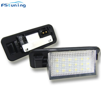 FSTUNING 12v 8W led license plate light for BMW E36 1992- 1998 car plate light number plate lamp tail number lamp for bmw e36 image
