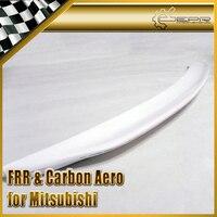 Samochód stylizacji dla Mitsubishi Evolution 10 FRP włókna szklanego Duckbill tylny spojler bagażnika z włókna szklanego Boot skrzydło wargi Auto Body Kit wykończenia