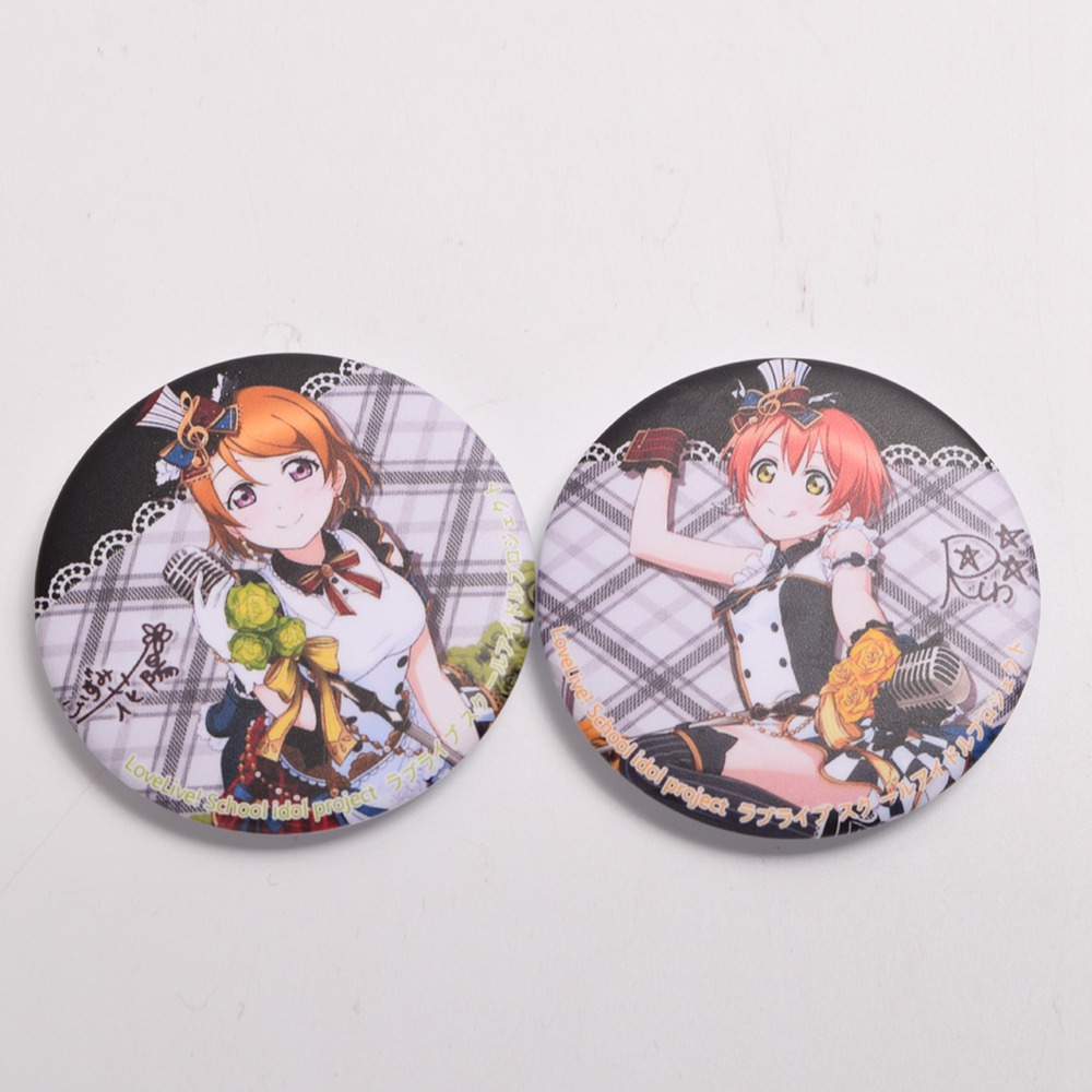 Love Live Girls School Star Dress Badge Pin Back Anime Collection Cosplay Props