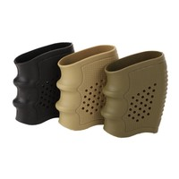 Black Glock Gun Hunting Accesories Tactical Anti Slip Handgun Rubber Protect Cover Grip Glove Tactical Holster*