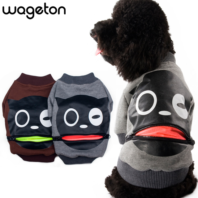 "Free Shipping! MATA VERN Fashion Pet Clothing ""Laugh""  Wholesale And Retail Designer Dog Clothes ! - 2 Colors"