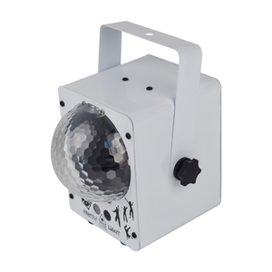 Image 4 - ALIEN RGB LED kristal disko sihirli top ile 60 desenler RG lazer projektör DJ parti tatil Bar noel sahne aydınlatma etkisi