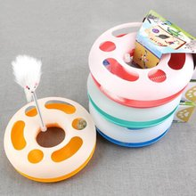 Catch The Mouse Motion Cat Toy Funny Cat Toys Original Design Pet Amusement Plate Interactive Toys Great Gift for Cat