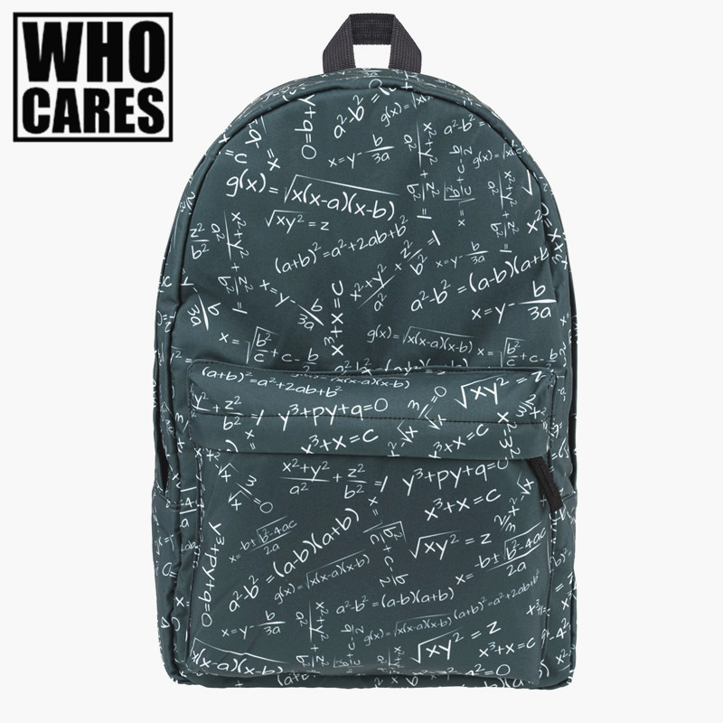Sponge Printing backpack 2016 Who Cares Fashion New Hot backpacks for teenage girls mochila feminina school bags for teenagers tropical doodle 3d printing mini backpack women mochila masculina who cares new canvas backpacks for teenagers girls school bags