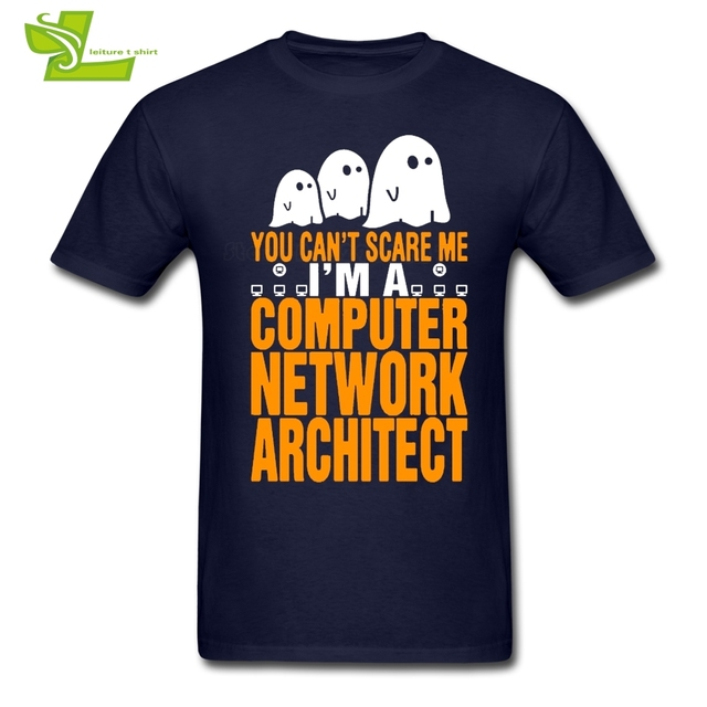 You can't Scare Me I Am Computer Network Architect Adult T Shirt ...