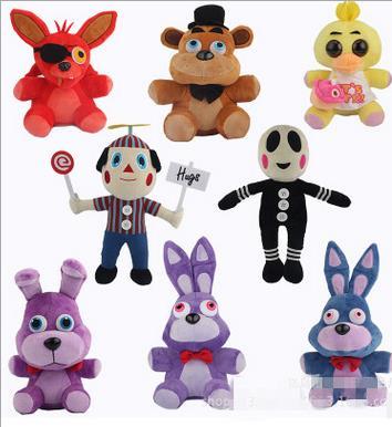 25cm Five Nights At Freddy's 4 FNAF Golden Freddy foxy Bonnie Chica Plush Toys stuffed doll kids gift Freddy Fazbear plush toys wholesale five nights at freddy s 4 fnaf freddy fazbear bear foxy plush toys doll kids birthday gift