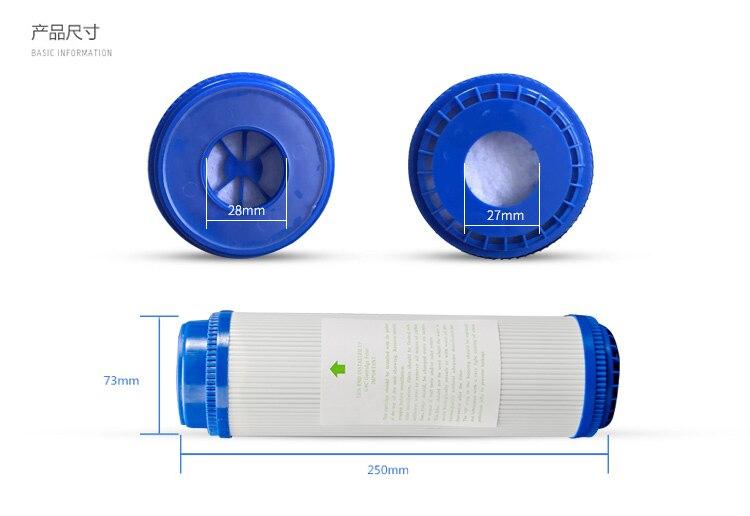 Бытовой 10 дюймов очиститель воды картридж комплекты PP осадка + UDF + CTO + Quick Connect Малый T33 активированный Cabon фильтр картридж