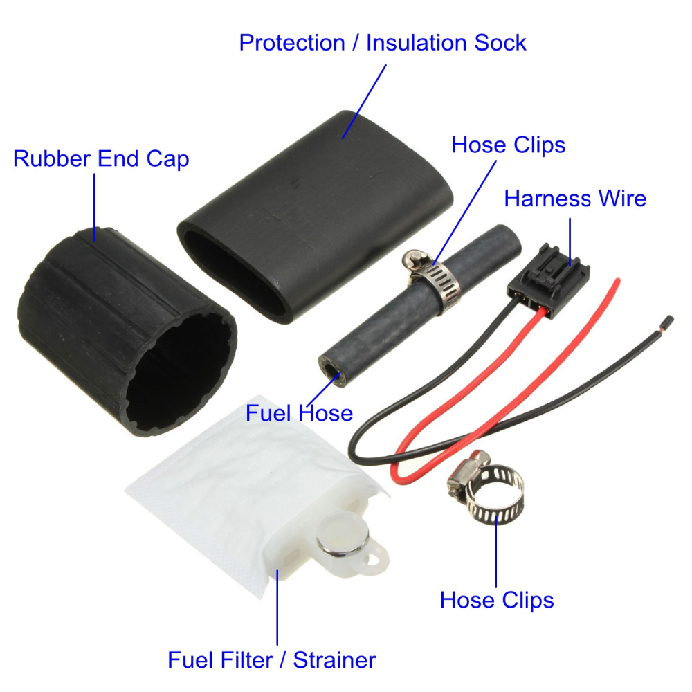 255LPH High Performance Fuel Pump replace for Mitsubishi Lancer EVO 1992  2009 Mitsubishi Lancer 1992 2009 Walbro GSS342-in Fuel Pumps from  Automobiles ...