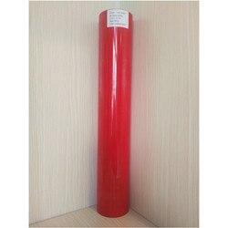 (50cm x 25M/Roll) PU Flex Rot Farbe Wärme Transfer Papier Vinyl Für Kleidung PU Vinyl Film für T-shirts Eisen auf Vinyl Aufkleber