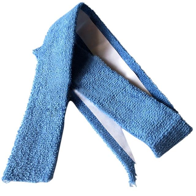 Сталь Синий самоклеющиеся теннис ракетки для бадминтона Полотенца Grip 27,5