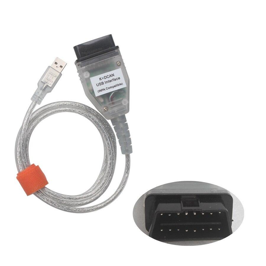 Лучшая цена для BMW INPA K + может K может INPA с FT232RL чип INPA к DCAN USB Интерфейс полный диагностический для BMW от 1998 до 2008