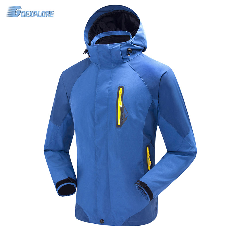 Dropshipping winter Windproof jacket Camping Hiking sports coat fishing tourism mountain waterproof outdoor hunting jacket mens носки горнолыжные мужские merinofusion winter sports all mountain brid