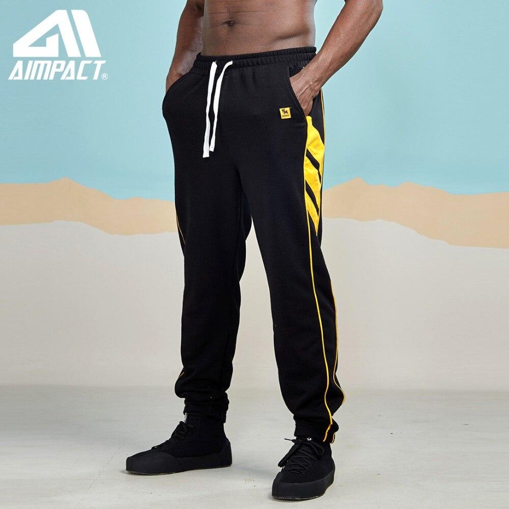 AIMPACT Patchwork Stripe Harem Men Pants 2019 Spring Casual Pockets Joggers Sweatpants Male Cotton Brand Clothes Trousers AM5059