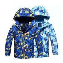 Children Outerwear Warm Polar Fleece Coat Hooded Kids Clothe