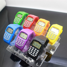 2019 Kids Watches Boys Girls Multi-function Watch Children Calculator Digital Watch Casual Silicone Sports Watch Montre Enfant children kids date multi purpose calculator silicone wrist watch kids date month time display mini calculator mathematics suppl
