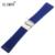 Zlimsn 26mm pulseira pulseira de relógio do esporte dos homens de moda à prova d' água mergulhador borracha de silicone banda fivela de aço relojes hombre bre201