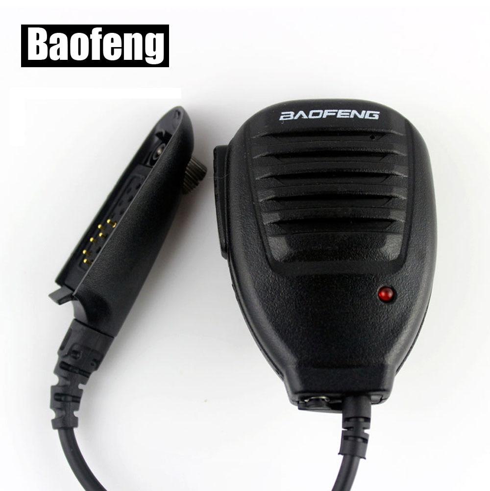 bilder für LED BAOFENG Lautsprecher-mikrofon Wasserdicht für BF-A58 BF-9700 Zweiwegradio