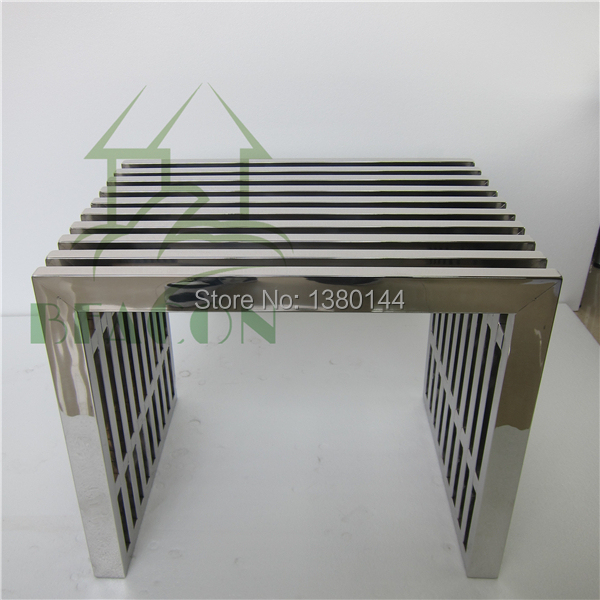 Stainless Steel Bench Outdoor Public Seating