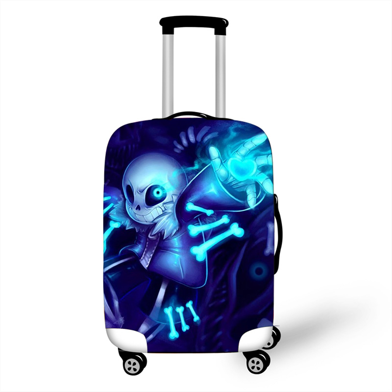 18-32 Inch Undertale Sans Elastic Luggage Protective Cover Trolley Suitcase Dust Bag Case Cartoon Travel Accessories