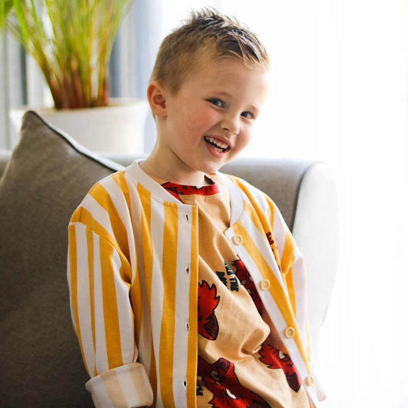 Enkelibb Balita Anak Laki-laki Jaket Fashion Fox Cetak Anak Perempuan Jaket Anak Berlengan Panjang untuk Musim Gugur Anak-anak Eropa Gaya Pakaian