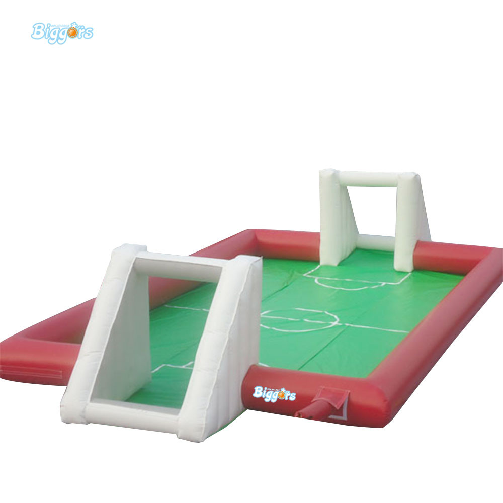 Water soccer soapy stadium inflatable soap soccer field inflatable football soccer field cheap portable small inflatable water soccer football field for kids