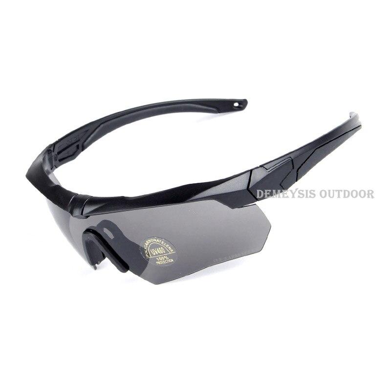 Caminhadas Eyewears proteção, balístico 3 lentes, exército Modelo Número    Spoer cfc56b5721
