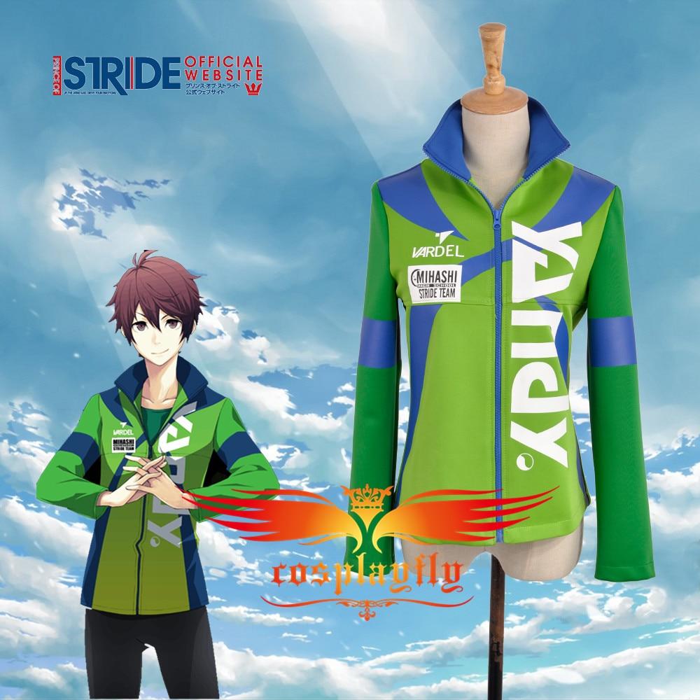 Prince of Stride Mihashi High School Kamoda Kei Kamoda Yu Shima Aoi Boy Sportswear Jacket Uniform  Outfit Cloth Cosplay Costume cosplay costume prince of stride costume costume - title=