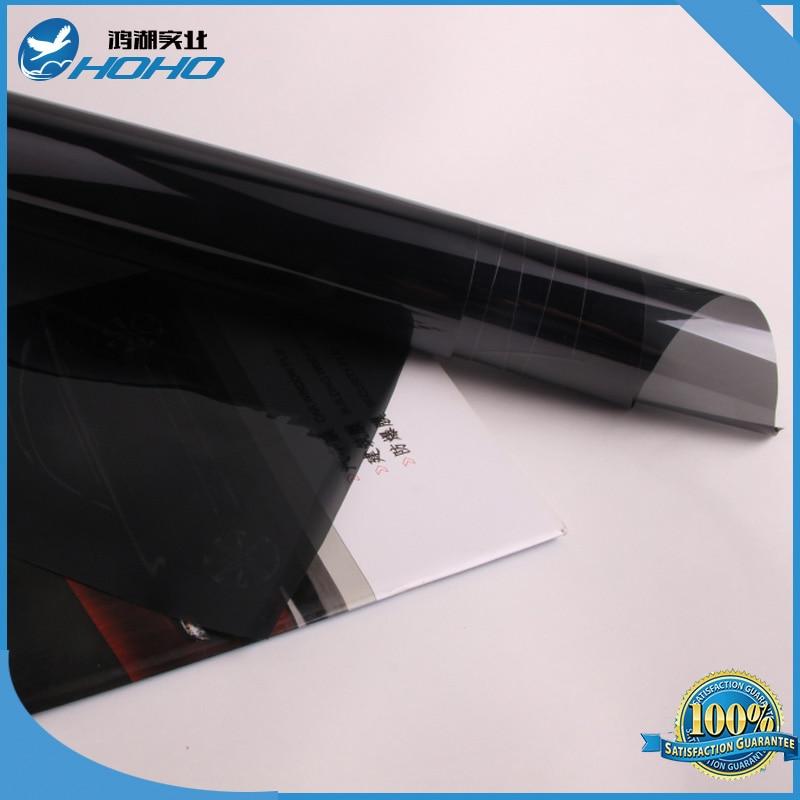 Window tint film 2ply black 15 vlt for 2 ply window tint film