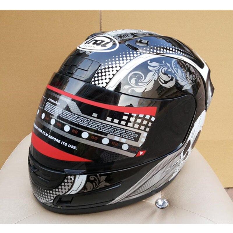 Cheap ARAI helmet motorcycle helmet helmet male personality run skull helmet Capacete