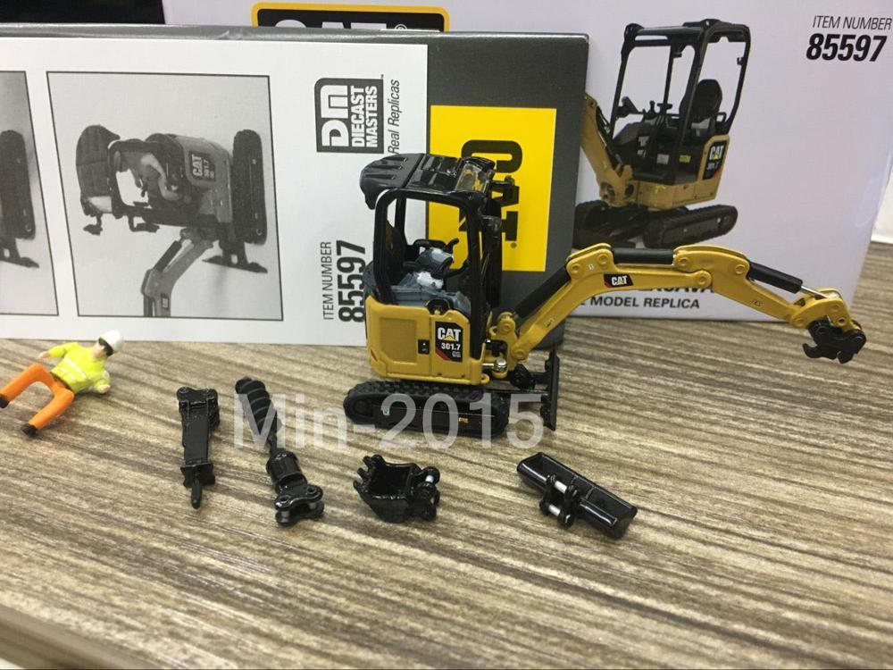 Caterpillar Cat 301.7 CR Mini Hydraulic Excavator 1:50 Scale Metal By Diecast Masters #85597Caterpillar Cat 301.7 CR Mini Hydraulic Excavator 1:50 Scale Metal By Diecast Masters #85597