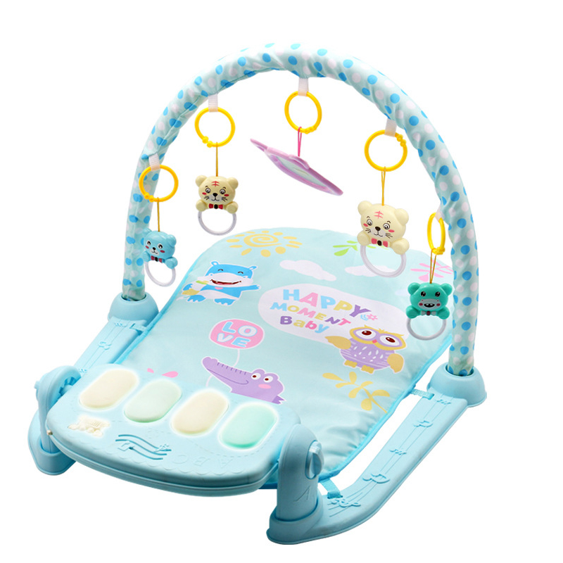 QWZ 3 in 1 Baby Play Mat Baby Gym Toys Soft Lighting Rattles Musical Toys For QWZ 3 in 1 Baby Play Mat Baby Gym Toys Soft Lighting Rattles Musical Toys For Babies Educational Toys Play Piano Gym Baby Gifts