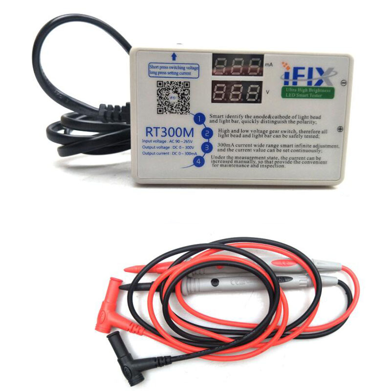 Upgraded version RT300M V2 0 90W 0 300V Smart LED backlight tester LCD TV LED backlight