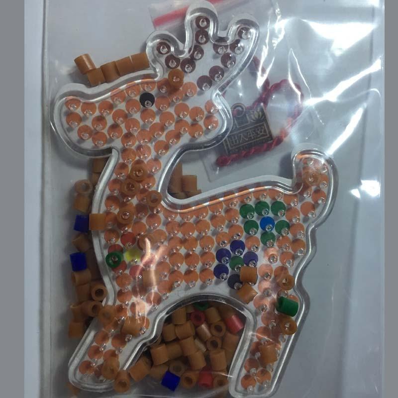 4 kom Puzzle Pegboards Uzorci s obojenim papirom Za 5mm Hama Perler - Igre i zagonetke - Foto 5