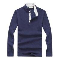 Men Polo Shirt 2015 Winter Warm New Men S Long Sleeve Shirt Plus Thick Velvet Warm