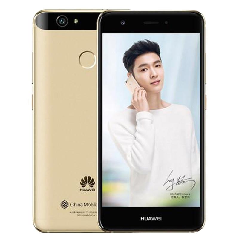 "Original Huawei nova 4G LTE Mobile Phone 4g Ram 64GB Rom MSM8953 Octa Core 5.0"" FHD 1920X1080P Fingerprint ID"