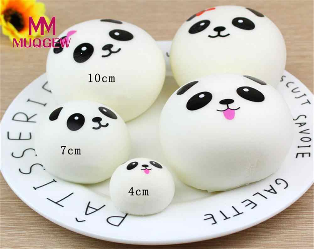 Blando Slow aumento Jumbo Panda apretón chico 3 tamaño 4/7/10CM divertido juguete decoración antiestrés blando encanto REGALO/PY